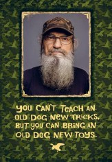 Duck Dynasty, Si Dog Tricks Birthday Cards, Pack of 6
