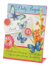 Metal Memo Board w/Magnet Set, Butterfly Blessings