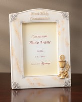 First Holy Communion Photo Frame, Marble Finish