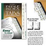Bible Tabs; Vertical Gold