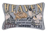 Cats In Heaven Pillow