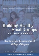 Building Healthy Small Groups In Your Church, 4 CDs