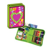 All-in-One School Supplies /Art Kit Heart Design