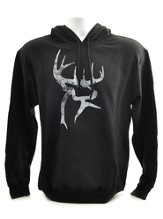 Buck Commander Hooded Sweatshirt, Black, XXX-Large
