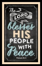 The Lord Blesses His People Magnet