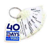 40 Days in the Word Key Tags - Pack of 25