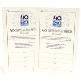 40 Days in the Word--Covenant Card (pack of 25)