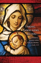 I Bring Good News Christmas Nativity Bulletin 2015 (Package of 50)
