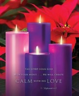 Advent Sunday 4 Bulletin 2015, Large (Package of 50)