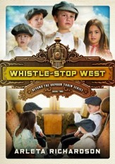 Whistle-Stop West - eBook