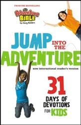 Jump into the Adventure: 31 Days of Devotions for Kids: 31 Days of Devotion for Kids - eBook
