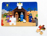 Foam Nativity Puzzle, 1 Dozen