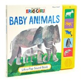 The World Of Eric Carle: Baby Animals Lift-A-Flap Sound Book