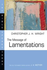 The Message of Lamentations - eBook