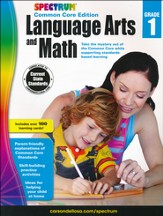 Spectrum Language Arts and Math, Grade 1 (2015 CCSS Edition)