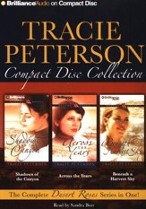 Tracie Peterson CD Collection: Shadows of the Canyon, Across the Years, Beneath a Harvest Sky - Unabridged Audiobook on CD