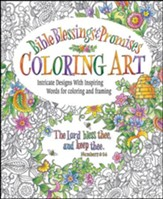Bible Blessings & Promises, Coloring Book for Adults