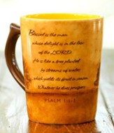 Blessed is the Man Mug