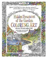 Hidden Treasures of the Garden Coloring Book