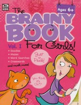 Brainy Book for Girls Activity Book, Grades 1-4, Volume 1