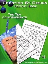 Activity Book - The Ten Commandments