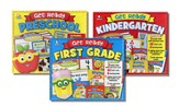 Get Ready Activity Packs: Preschool, Kindergarten,      First Grade