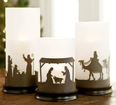 Hurricane Candle Holders for Christmas and Year-round
