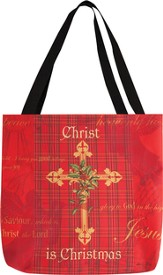 Christ Is Christmas Tote Bag