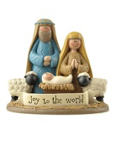 Joy to the World, Nativity Figurine