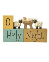 O Holy Night Block Figurine