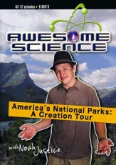 America's National Parks Collection, 6 DVD's, 12 Episodes: A Creation Tour with Noah Justice