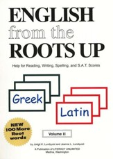 English from the Roots Up, Volume 2