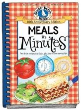 Gooseberry Patch:  Meals in Minutes, 10th Anniversary Edition A Flash .. Plus Lots of Time Saving Tips