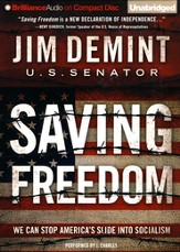 Saving Freedom, Unabridged Audiobook on CD
