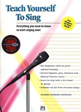 Teach Yourself to Sing, Book & CD