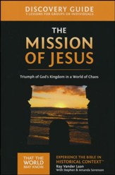 That the World May Know-Volume 14: Mission of Jesus,  Discovery Guide