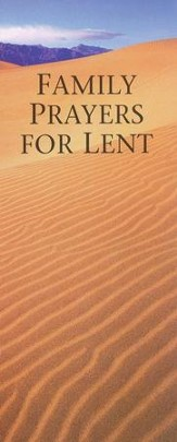 Family Prayers for Lent, Package of 25