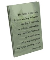 The Lord Is My Rock Journal