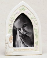 Precious Moments, First Communion Photo Frame, Girl