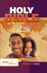 Children of Color KJV Holy Bible - Slightly Imperfect