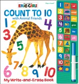 The World Of Eric Carle: Count To 10 With Animal Friends - My Write And Erase Book