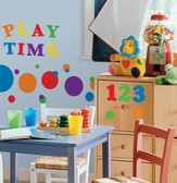Numbers, Vinyl Wall Stickers, Primary Colors