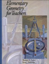 Elementary Geometry for Teachers