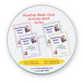 Reading Made Easy Activity Book Series CD, 2009 Ed. 4 Activity Books on a Single CD in PDF files