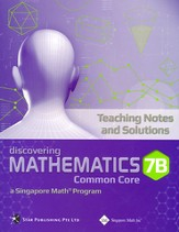 Discovering Mathematics Teaching Notes & Solutions 7B (Common Core State Standards Edition)