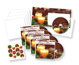 Silent Night Greeting Card w/CD: 5 Pack
