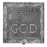 Be Still and Know That I Am God Keepsake Box