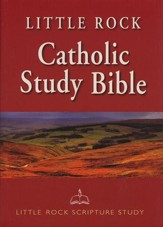 Little Rock Catholic Study Bible hardcover