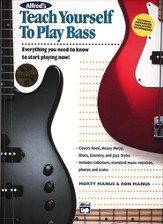 Teach Yourself To Play Bass, Book & CD