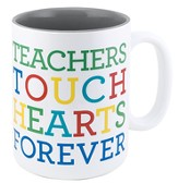 Teachers Touch Hearts Forever Mug